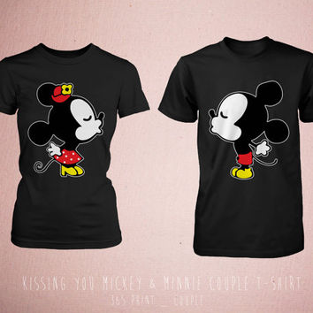 Cute DIY matching Disney shirts made with just a little heat transfer vinyl and solid colored t-shirts. Perfect for visiting Disney World with family! dexterminduwi.ga