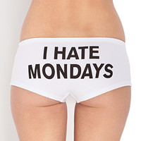 Mondays Hater Boyshorts