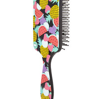 Fruit Frenzy Paddle Brush | FOREVER21 - 1000069801