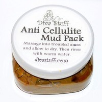 Anti Cellulite Mud Pack With Dead Sea Clay, Coffee Grinds, Fenugreek, Juniper & More By Diva Stuff