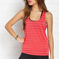 Burnout Stripe Workout Tank