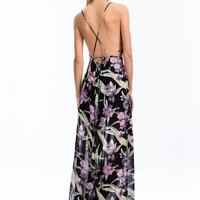 Tropical Daze Floral Maxi