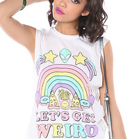 The Let's Get Weird Muscle Tee