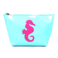 Light Blue & Pink Seahorse Avery Case