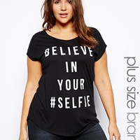 New Look Inspire Believe In Your Selfie Tee