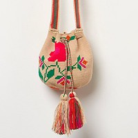 Free People Floral Wayuu Crossbody