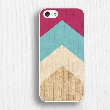colorful chevron iphone5 cases,wooden printing iphone 5s case, iphone5c case,  iphone 5 case,iphone 4/4s case, unique gifts d076
