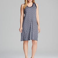 Karen Kane Plus Contrast Tank Dress