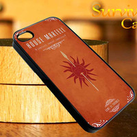 House Martell Game Of Thrones iPhone 4 4S iPhone 5 5S 5C and Samsung Galaxy S3 S4 Case