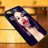 Lana Del Rey Quote iPhone 4 4S iPhone 5 5S 5C and Samsung Galaxy S3 S4 Case