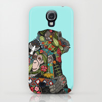 chimpanzee love sky iPhone & iPod Case by Sharon Turner | Society6