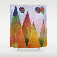 Thursday Shower Curtain by SensualPatterns