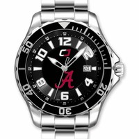 "Alabama Crimson Tide ""Seapearl"" Series Quartz Watch. Fast Free Shipping"
