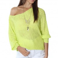 The Summer Sweater Lemon