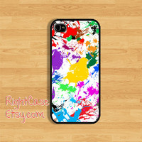 SPLASH Drop IPHONE 5S CASE Color Paint Splat iPhone Case iPhone 5 Case iPhone 4 Case Samsung Galaxy S4 S3 Cover iPhone 5c iPhone 4s Cover