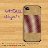 VINTAGE IPHONE 5S CASE Old Paper and Red Stripe iPhone Case Phone 4S Case iPhone 5C Case Samsung Galaxy S4 Galaxy S3 iPhone 5 iPhone 4 Cover