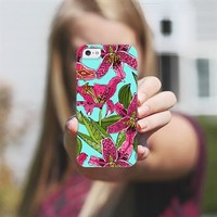 stargazer lilies iPhone 5 case by Sharon Turner | Casetagram ***get $5 off using code: 5A7DC3***