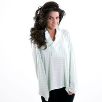 Jockey Horizon Stripe Long Sleeve Sleep Tee