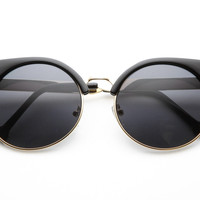 Milo Sharp Cat Eye Sunglasses