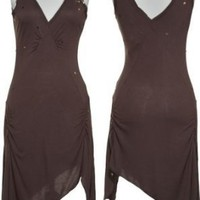 ROMEO & JULIET COUTURE Tank Dress W/ Sequin Shoulders [RJ24719]