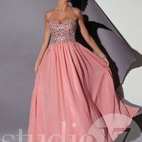 Studio 17 12452 Strapless Prom Dress