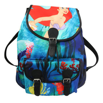 Disney The Little Mermaid Ariel Slouch Backpack
