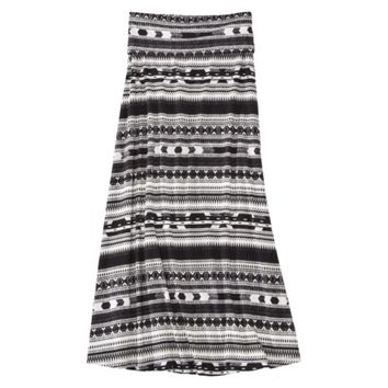 Mossimo Supply Co. Junior's Fold Over Maxi Skirt - Assorted Colors