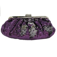 Helen's Heart Style FP-7051 Reversible Sequin Bag