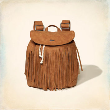 Fringe Backpack