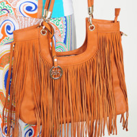 Love Flow Purse: Cognac