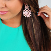 Best Of All Earrings: Light Pink