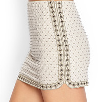 Beaded Miniskirt