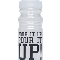 Pour It Up Water Bottle | Wet Seal