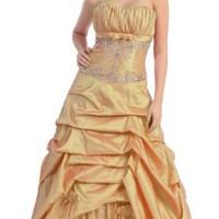 Ball Gown Formal Prom Wedding Dress #2607