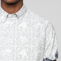 Reyn Spooner Reverse Tropical Print Button-Down Shirt