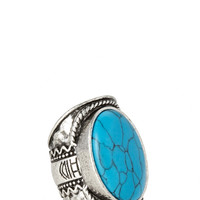 Gone Boho Faux Stone Ring