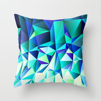 Polygons - Pocahontas Throw Pillow by House of Jennifer