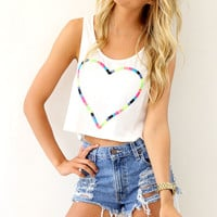 Threaded Heart Top | SABO SKIRT