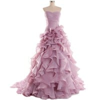 Cloud Shop Women's Exquisite Luxury Wedding Party Dresses C345 [Color 3 ]