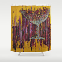 :: Afternoon Wine :: Shower Curtain by GaleStorm Artworks
