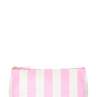 Candy-Striped Midsize Cosmetic Bag