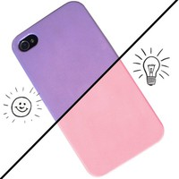 iChange iPhone 4 Case - Pink to Lilac