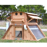 Easy-Fill Waterer for Belfry Mobile Backyard Chicken Coop™