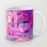 Taj Digi Collage Mug by Nina May