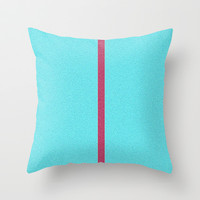 Re-Created Interference ONE No. 27 Throw Pillow by Robert S. Lee