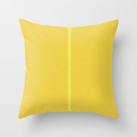 Re-Created Interference ONE No. 28 Throw Pillow by Robert S. Lee