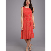 Jessica Howard Twist Front Ruched Waist Dress