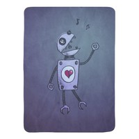 Geek Grunge Happy Singing Robot