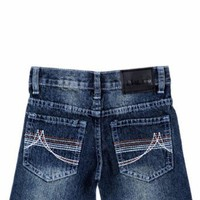 Blue Tab &amp;quot;Peaked&amp;quot; Jeans (Sizes 4 - 7)