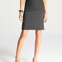 Back Sweep All-Season Stretch Pencil Skirt